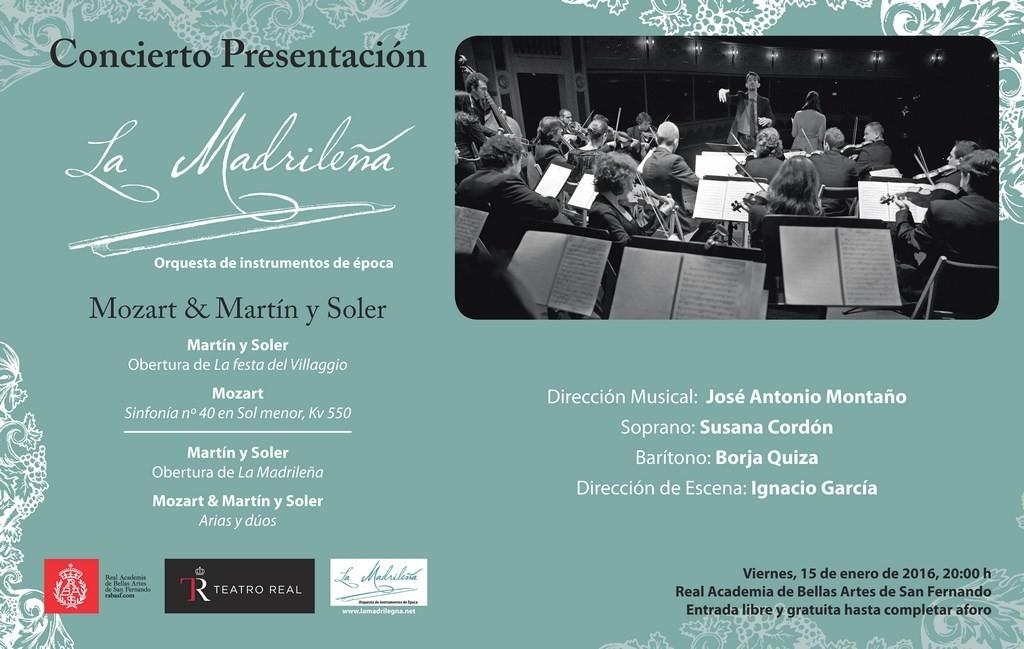 Cartel Concierto Presentación La Madrileña (1)