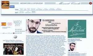 Entrevista José Antonio Montaño Director de orquesta La Madrileña