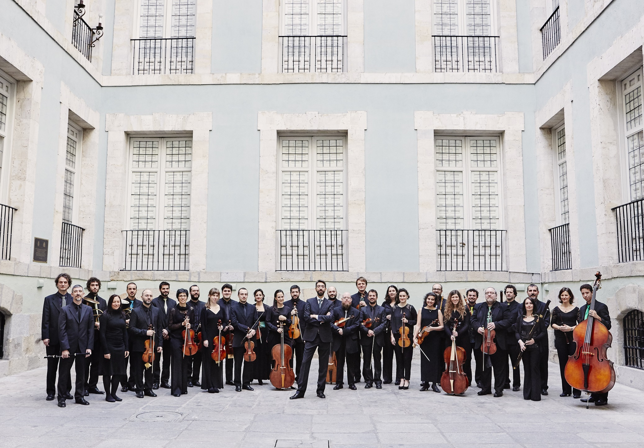 La Madrileña Montaño Finalista mejor grupo de música antigua de España premios asociación de grupos GEMA the Public votes as finalist to La Madrileña conducted by Montaño as Spanish Better group of ancient music Orchestra Orquesta La Madrileña, an orchestra conducted by José Antonio Montaño, has been voted by public to be finalist under BEST ANCIENT MUSIC GROUP category in the GEMA AWARDS- Association of Spanish Groups of Ancient Music