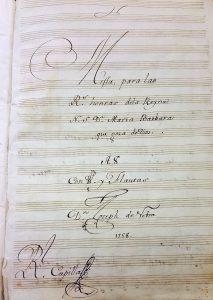 José de Nebra Misa de Requiem José Anrtonio Montaño La Madrileña