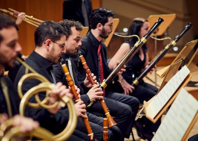 La Madrileña Orquesta de Instrumentos de época Period Instrument Orchestra director conductor José Antonio Montaño Vicente Martín y Soler José de Nebra Mozart Haydn Spanish española español