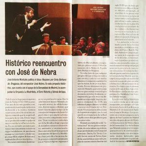 El Cultural Histórico reencuentro con José de Nebra josé Antonio Montaño requiem